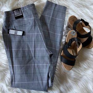Plaid dressy pants size Medium